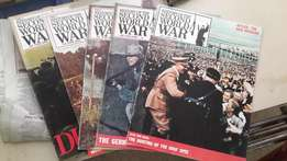 World War 2 Magazines and Readers Digest Books