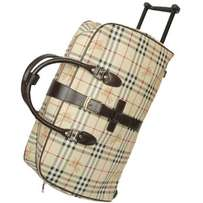 Burberry designer travel bags