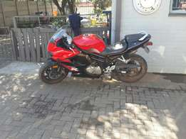 Combo for sale Bike and Car R60000