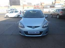mazda 2 2010 model blue colour