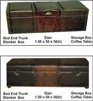 Bed-End Trunk / Blanket Box / SStorage Trunk / Coffee Table