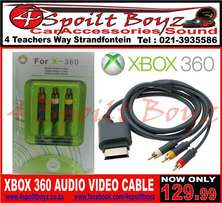 XBOX 360 Audio Video Cable