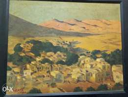 Oil painting, 1930, K. Th.Demant