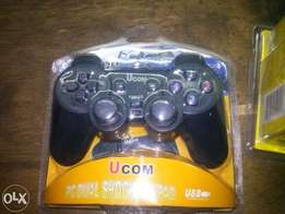 Pc Dual-shock (2-in -1) Gaming pad(boxed)