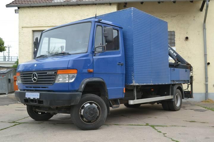 Mercedes-Benz Vario 815 Allrad 4x4 AWD Pritsche 814 818 815DA - 2002
