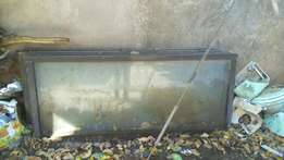 Five used Glass sliding doors(size 7feet by 3feet) at 15k