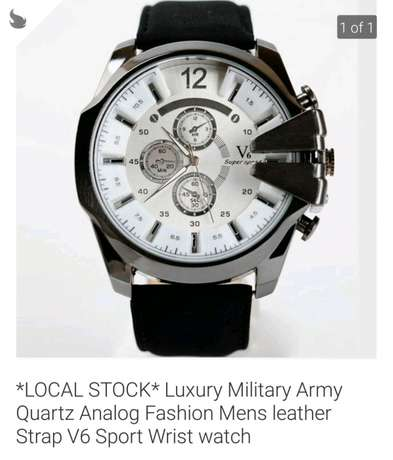 Luxury Military Watch Bredell - image 1