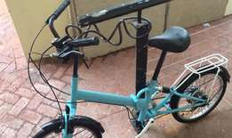 Vintage Japanese fold up bicycle for sale