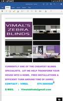 Vimal's Blinds