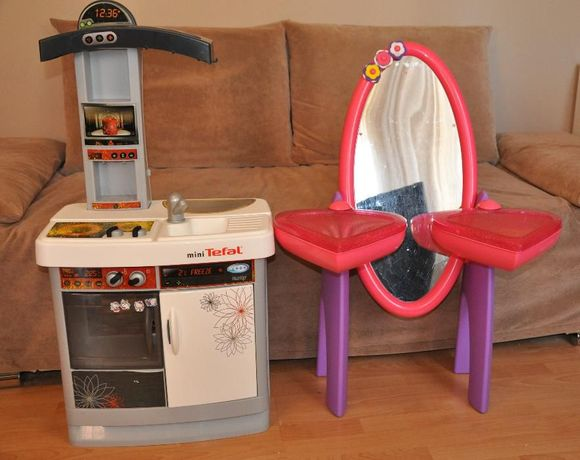 Toaletka Lustro Kuchnia Kuchenka Tefal Zabawki Dla Dzieci Olsztyn