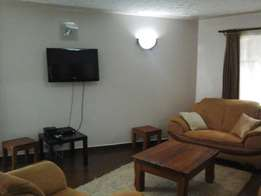 Lovely fully furnished one bedroom apartment.