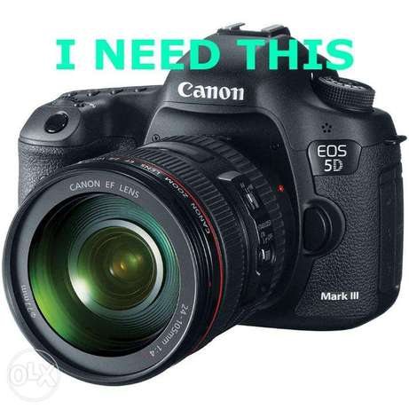 canon 5d mark iii NEEDED Kampala - image 1