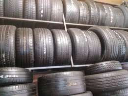 Quality second hand run flat tyres for sale.