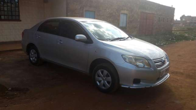 Toyota Axio 2007 KBY 995K (let me know if you spot it) Sagana - image 6