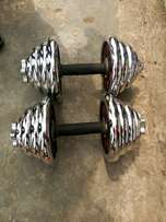 30kg chrome dumbell