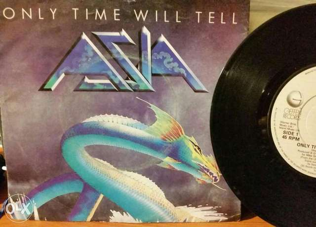 Vinyl/lo: Asia - only time will tell