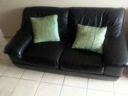 Leather Sofa for sale 2;1 and 1