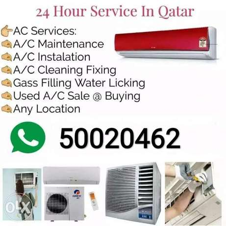 AC serviceing fixing repairing