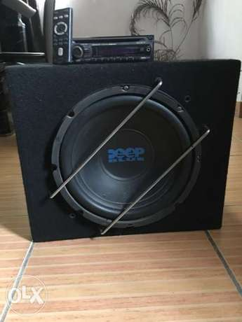 super bass woofer with Sony CD player Ikeja - image 1