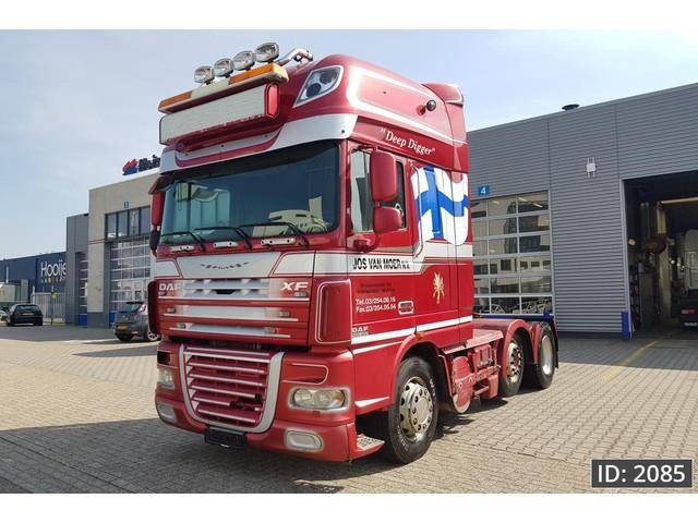 DAF XF105.460 SSC, Euro 5, MANUAL GEARBOX - 2007