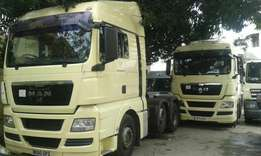 Man truck double diff brand new car