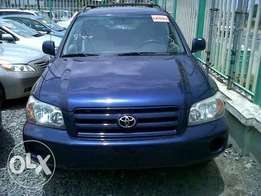 Toyota Highlander 2004 model for sale