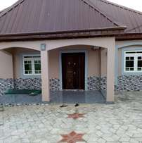 A newly built 3 bedrooms bungalow in a fenced compound at KUJE FCT ABJ