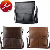 JEEP мужская кожаная сумка через на плечо. Чоловіча сумка Polo Поло 4d3935bc41704