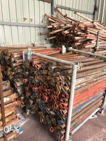 USED SCAFFOLDING materials for sale