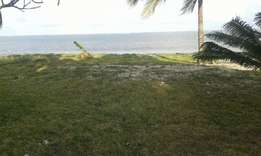 14 acres beach plot in kikambala with a 800 meters sea frontage