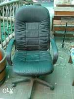 High Back vinyl office chair