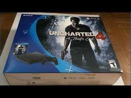 Sonyplaystation 4 slim new 500g bundle park uncharted 4