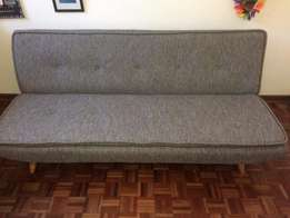 Stockholm sleeper couch grey