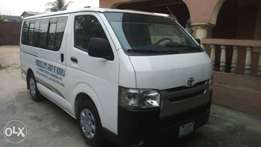 Very clean Toyota Hiace bus (Hummer bus) 2011 model