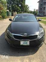 Sharp kia optima with thumb start
