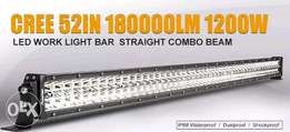"""2 Pieces of 1200 watts 51"""" Led light bar. Combo beam. Water proof"""