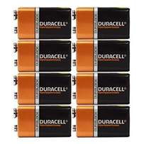 Duracell Coppertop 9v/6 Alkaline For Sale