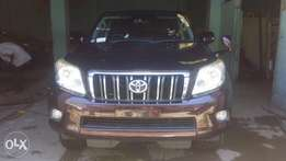 Wine Red Toyota Landcruiser Prado Available for Sale