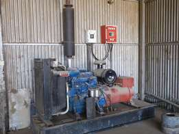 85 KVA Perkins Generator with change over Switch for sale