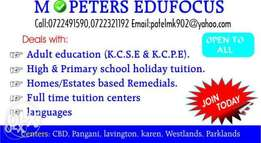 Home school tuition