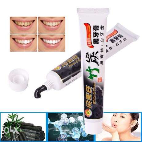 New Toothpaste Charcoal All-purpose Teeth Whitening D Black Toothpaste Akure South - image 2