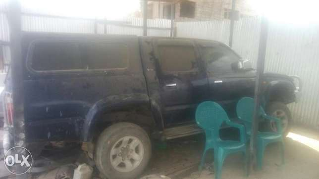 Toyota hillux double cab kbh with faulty dif manual diesel at 650k Athi River - image 1