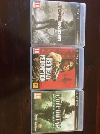 3 PS3 games for R300 Rustenburg - image 1