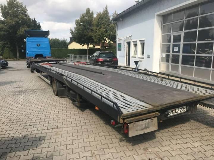 Kusenberg Fahrzeugtransporter 10+1m mit Rampen - 1999