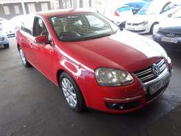 2006 Red VW Jetta-5 2,0 Comfortline