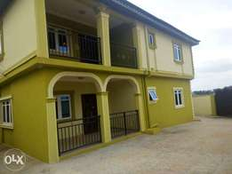 Executive newly built 3 bedroom flat all tiles floor at Abule Egba