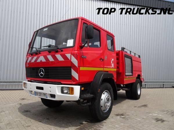Mercedes-Benz 1120 4x4 - +/- 3.000 ltr water tank - feuerwehr - fire br... - 1990