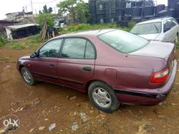 Lovely Clean Toyota Carina e with 3s caburator engine for grab now