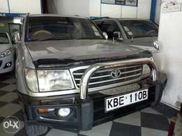 Very clean silver Toyota Land Cruiser KBE for sale at Mombasa Island