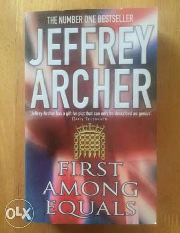 first among equals - Jeffery Archer